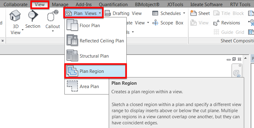 Revit Plan Region for Beginners
