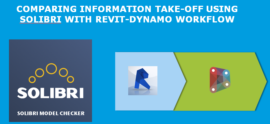 Comparing information take-off using Solibri with Revit-Dynamo workflow