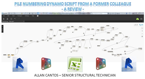 Pile Numbering Dynamo Script from a former colleague – a review