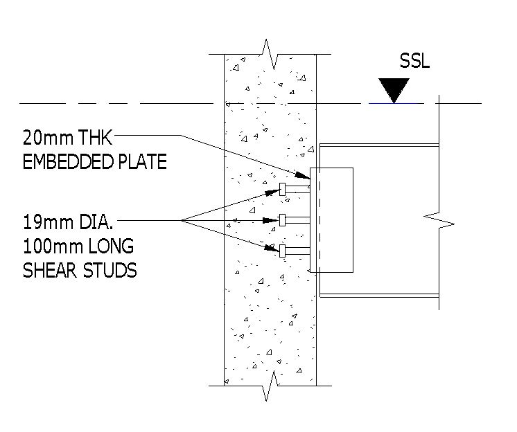 parametric embedment plate with parametric studs  u2013 allscan12