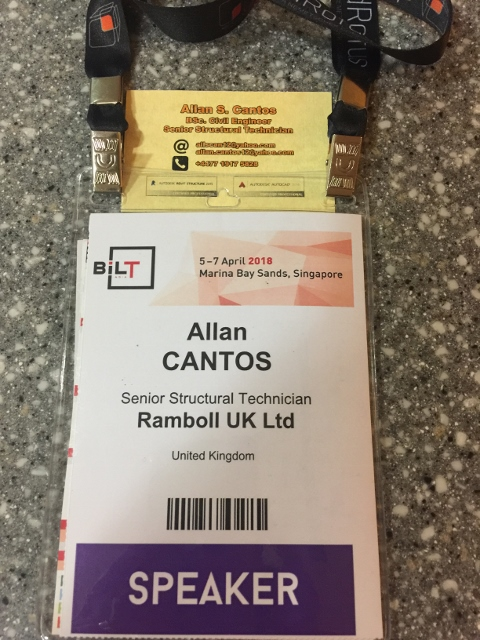 Finally arrived in Singapore for BILT Asia 2018 Conference