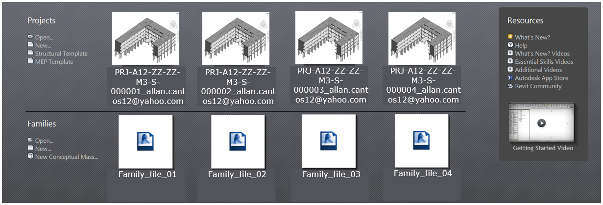 How to remove recent files on your Revit start-up page – allscan12