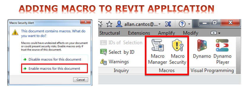 Revit Application Macro