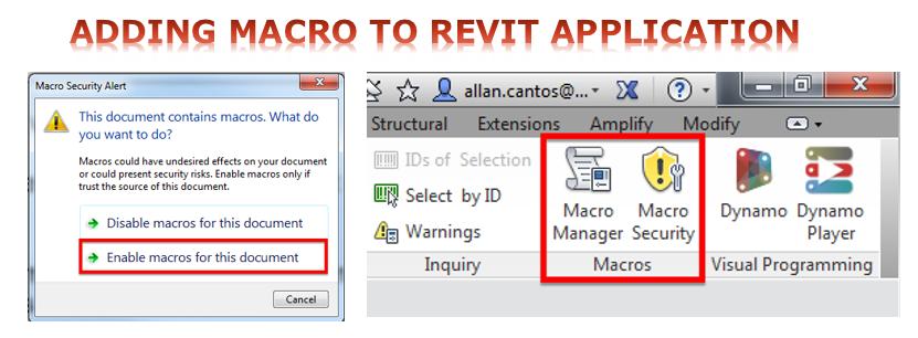 Revit Application Macro