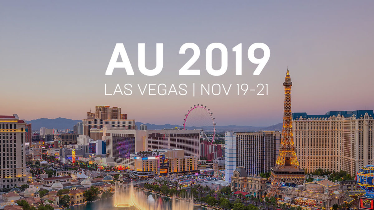 AU 2019 Classes are now online and free!