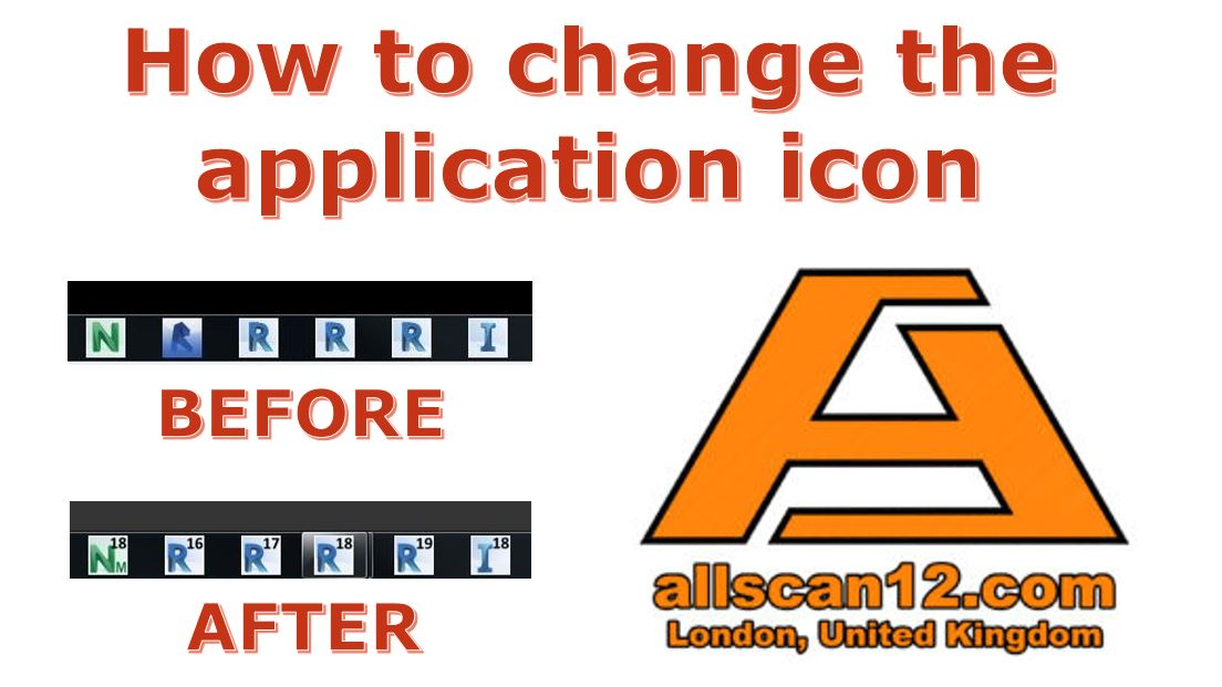 How to change the application icon